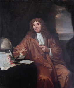 Anthonie van Leeuwenhoek (1632-1723) *oil on canvas *56 × 47,5 cm *1650 - 1723